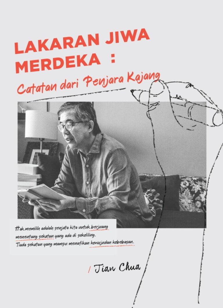 【Info Buku】Lakaran Jiwa Merdeka: Catatan dari Penjara Kajang